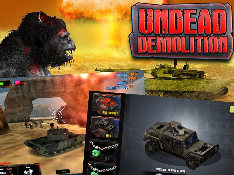 undead demolition unity3d game