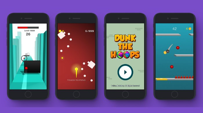 Hyper casual mobile game