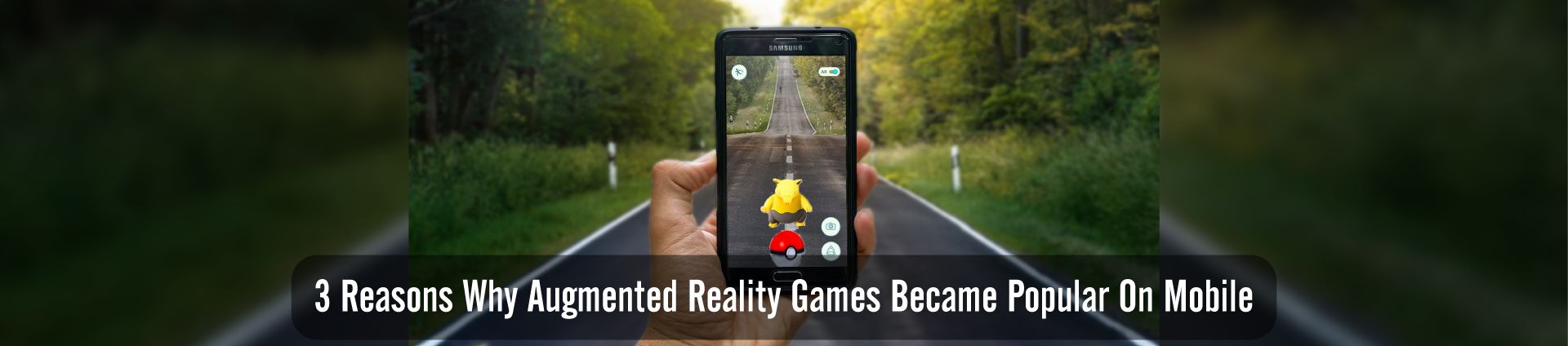 Popularity of Augmented Reality Games